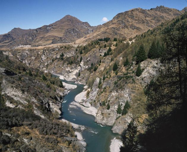 The Skippers Canyon is a popular jet boating area. Photo: Getty Images