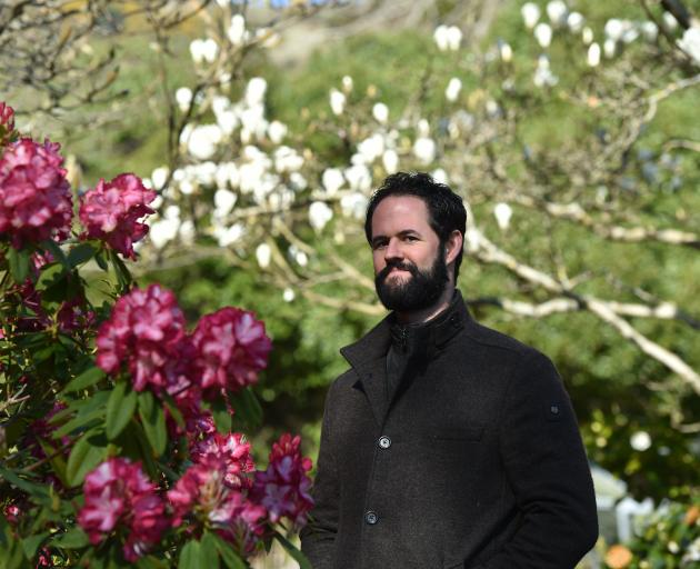 Former Dunedin tenor Stephen Chambers has been working in the garden rather than on stage as he...