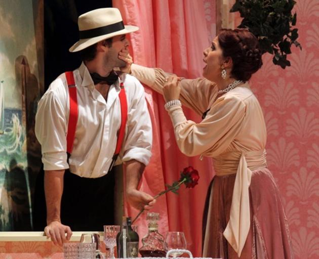 Stephen Chambers  plays Alfred in Die Fledermaus in Detmold with Eva Bernard. It is the role he...
