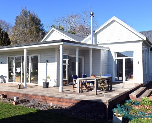 The new extension replaced an unsympathetic 1950s addition  (next image).PHOTO: LINDA ROBERTSON