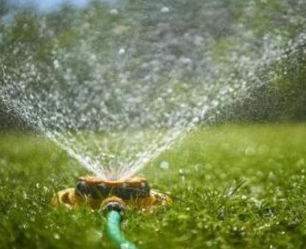 Southlanders may have to go easy on the sprinklers. Photo: ODT files