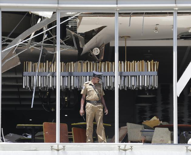 The Shangri-la in Colombo was one of three hotels targeted. Photo: AP