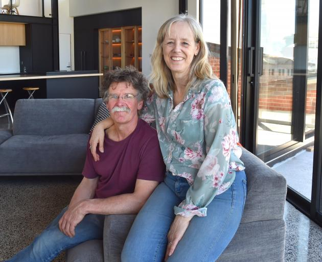Ted and Ita Daniels are looking forward to moving into the apartment permanently.