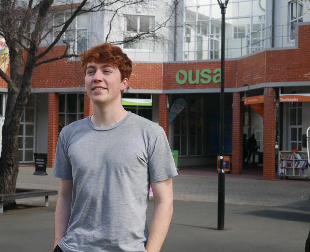 University of Otago third-year student James Heath is next year's Otago University Students' ...