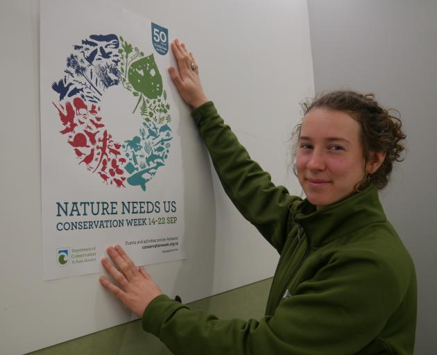 Department of Conservation community ranger Katrina Thompson gives a preview of  some of the...