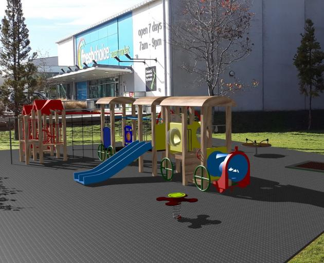 An artist's impression of the proposed Green Island children's playground. IMAGE: SUPPLIED