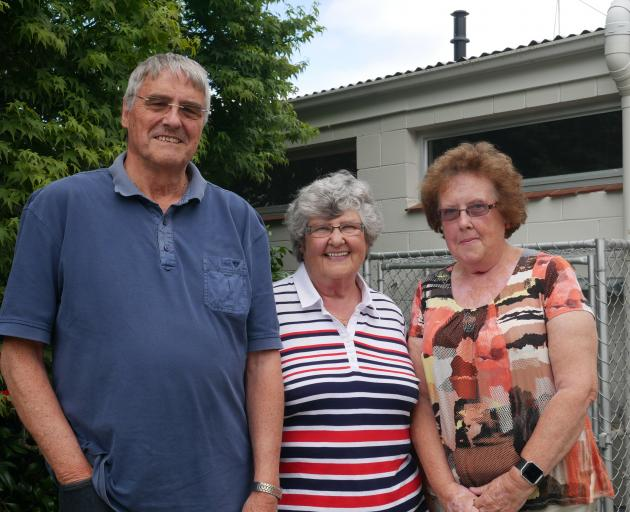 Taieri Age Connect start-up group members (from left) Ken Whitcombe, Carolyn Thomas and Margaret...