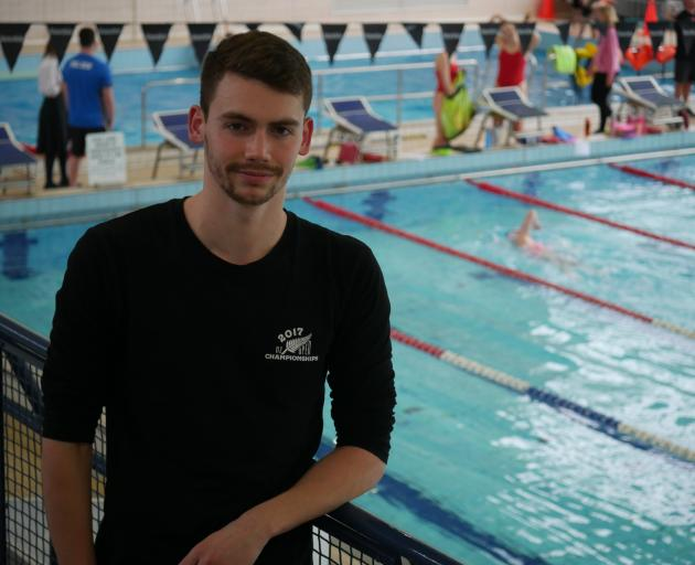 Dunedin swimmer Courtland Ellis left New Zealand for the United States this week to attend ...