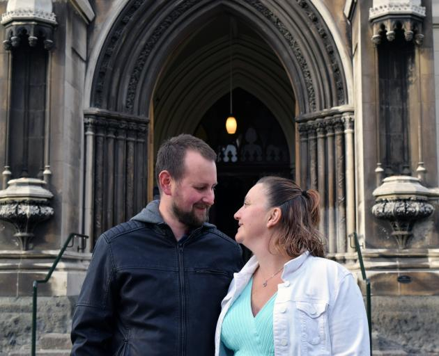 Michael Ferguson and Annette Weir are set to get married at First Church in Dunedin next month ,...