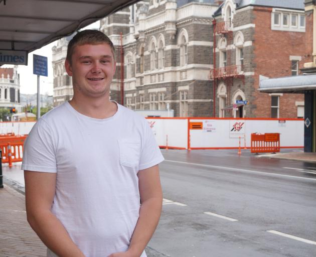 Otago Polytechnic Students' Assocation chairman Dylan Mead is looking forward to another year of supporting student life in Dunedin. PHOTO: GRETA YEOMAN