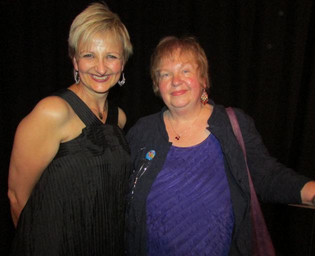 Hilary Halba (left) and Lisa Warrington. PHOTO: BRENDA HARWOOD