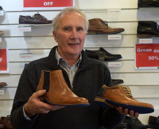 Thomas Shoes owner David Thomas is set to retire and close a business his grandfather started in...