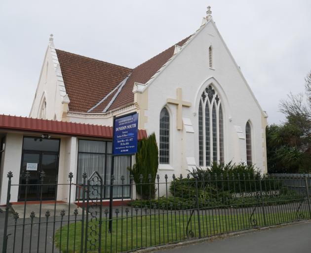 St James Presbyterian Church in King Edward St. PHOTO: JESSICA WILSON