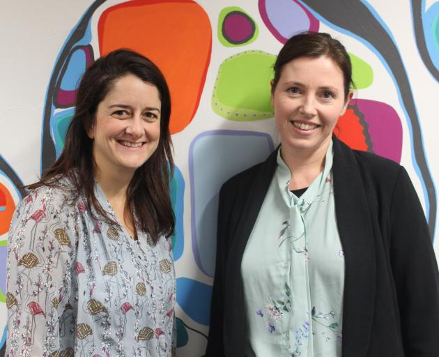 Burcu Cakmak (left) and Kate Gray are the driving force behind the new online skill-sharing site...