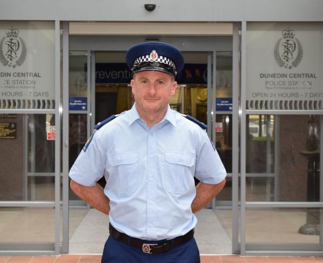 Constable Stew Thomas. PHOTO: SHAWN MCAVINUE
