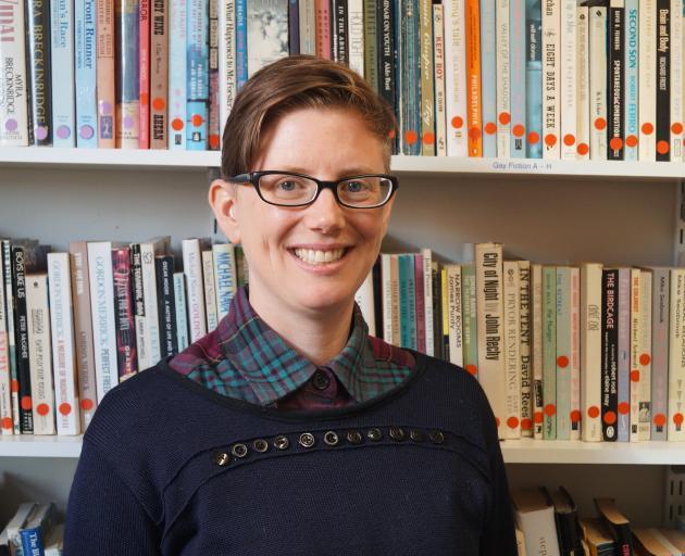 OUSA Queer Support co-ordinator Hahna Briggs. Photo: Greta Yeoman