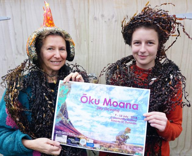 ''Oku Moana (My Oceans)'' art and science exhibition and community activity programme 