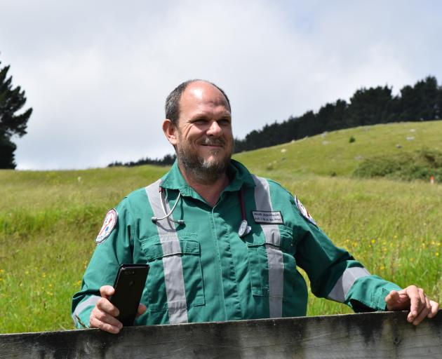 Registered nurse Rob Atkinson wants people with first-aid training living on Otago Peninsula to...