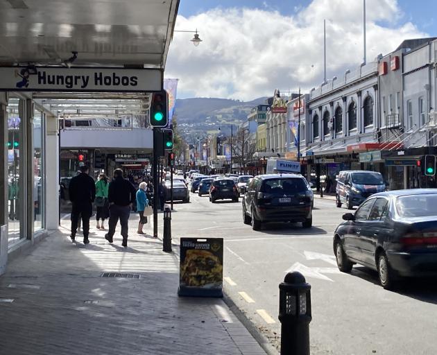 Dunedin dropped to Alert Level 2 on Wednesday. PHOTOS: JESSICA WILSON