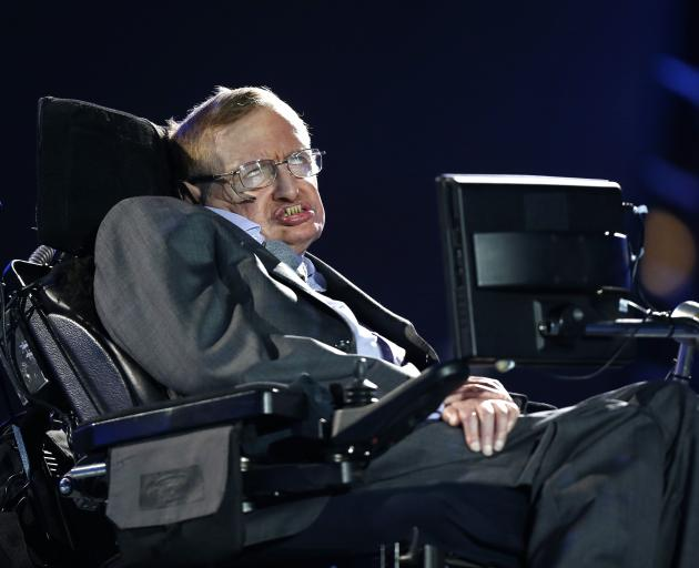 Professor Stephen Hawking died last year at the age of 76. Photo: AP