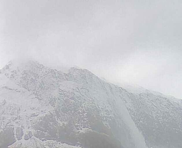 The Milford Road (SH94) has been closed due to increased avalanche risk. Photo: MILFORD ROAD/ NZTA