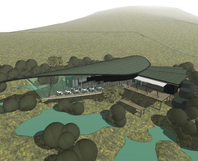 The proposed visitor centre.