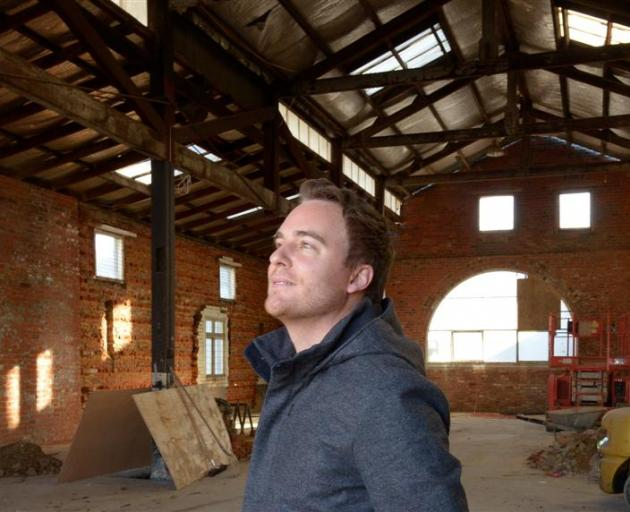 Ian McKinlay's plan to convert this 130-year-old brick stable at 218 Crawford St into Dunedin's...