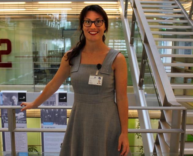Rebecca Grant at the Institut Pasteur, a non-profit foundation that has been at the forefront of...