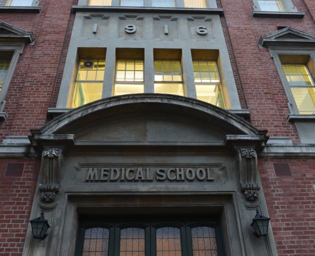 Otago Medical School. Photo by Peter McIntosh