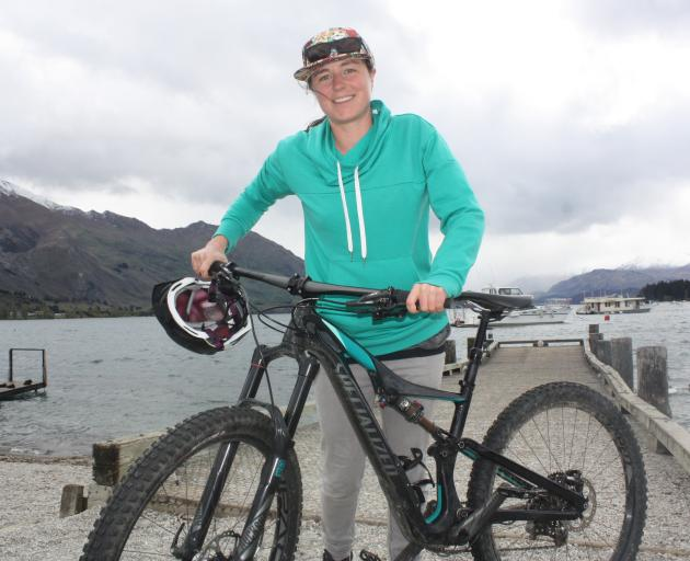 Co-ordinator Jo Guest hopes the month-long Bike'vember bike festival will encourage people in the...