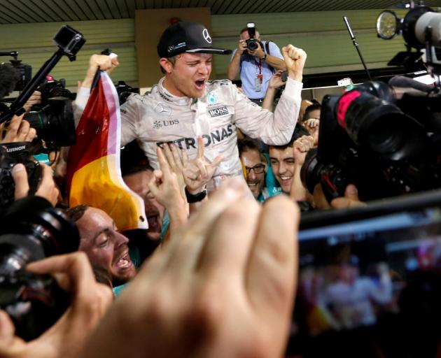 Nico Rosberg seals first F1 world title at Abu Dhabi Grand Prix