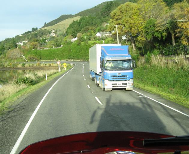 State Highway 88 from Dunedin to Port Chalmers. Photo by Mark Price.