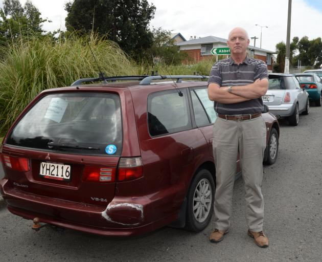 Abbotsford resident Ian James wants motorists to stop parking vehicles long-term in his...