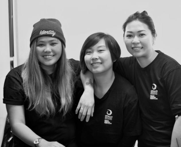 Introducing Running Hawker (from left), Mica Doc, Lucy Lu and Wenting Mere Cheung. Photos by Dani Johnson.