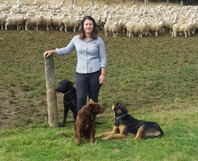 Tara Dwyer enjoys helping farmers to solve issues. Photo supplied.