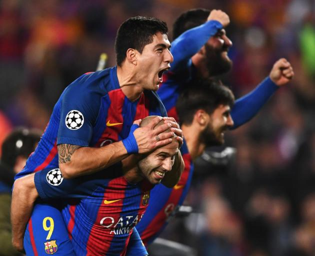 Image result for barca psg getty