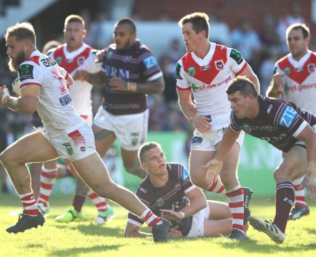 The dragons beat the Sea Eagles. Photo: Getty