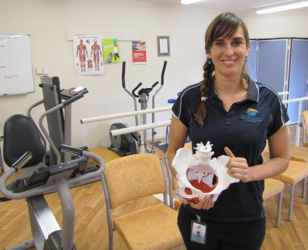 Dunstan Hospital Physiotherapist Lisa Carnie Has Received Specialist  Training For The New Pelvic Floor Physiotherapy Service