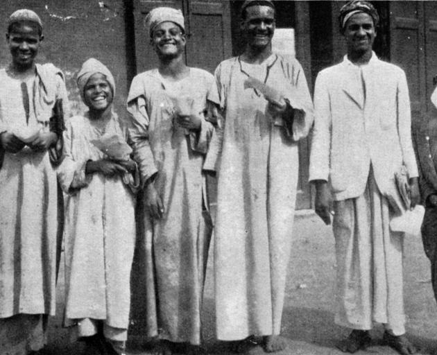 The lottery ticket sellers of Cairo, who sell tickets at two pence halfpenny each for prizes...