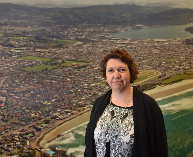 Dunedin Masters Games manager Vicki Kestila. Photo: Peter McIntosh.