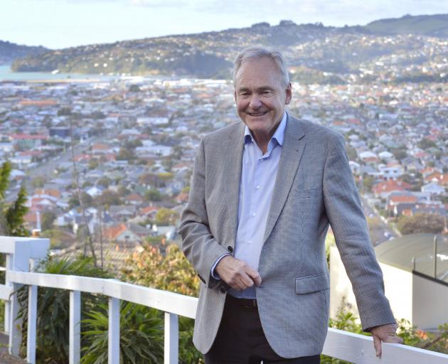 Chairman of the Otago chapter of the Property Council New Zealand Geoff Thomas says policymakers need to be careful not to damage property development opportunities in South Dunedin. Photo: Gerard O'Brien.