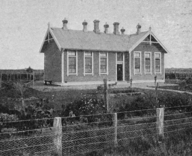 The Waianiwa Public School in Southland where the grounds are used for agricultural instruction and pupils won first prize for elementary agriculture at the Southland Winter Show. - Otago Witness, 23.5.1917.