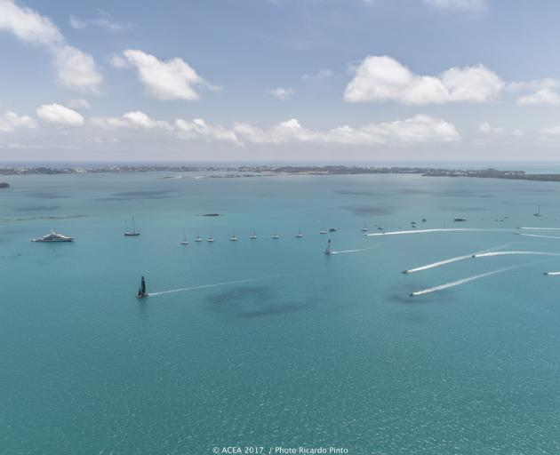 Yachting: No wind, no racing in America's Cup qualifiers