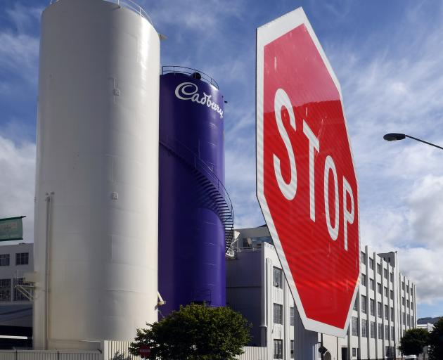 Dunedin's Cadbury factory. Photos: Christine O'Connor.