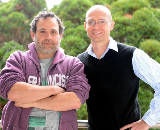 Jamin Halberstadt and David Barton. Photo: ODT.