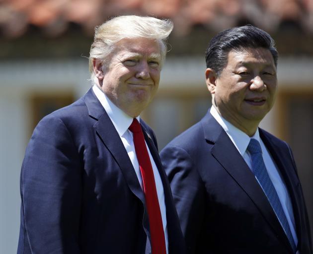 President Donald Trump and Chinese President Xi Jinping. Photo: Alex Brandon
