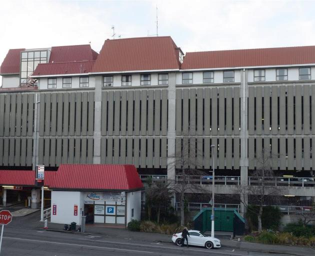Until recently the top two floors of the Dunedin City Council's Moray Pl car park building were...