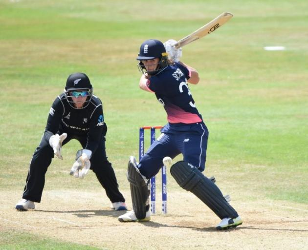 White Ferns thumped by England
