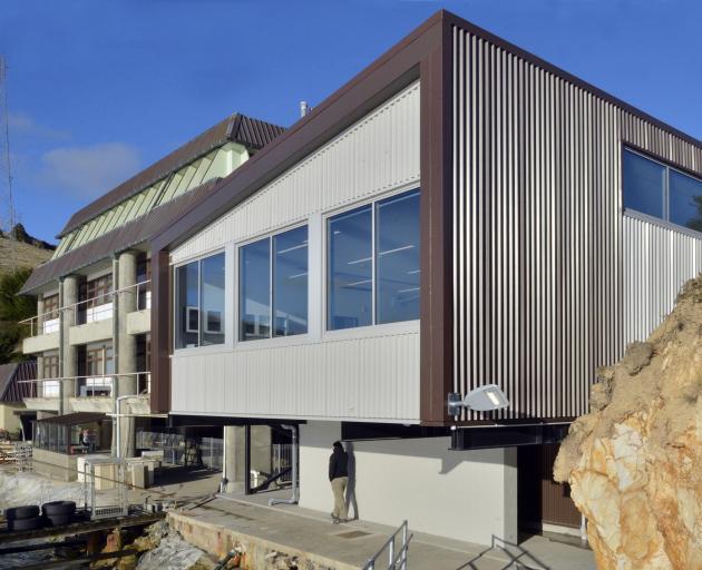 A view of the University of Otago's new marine science laboratory at Portobello. Photo: Gerard O...