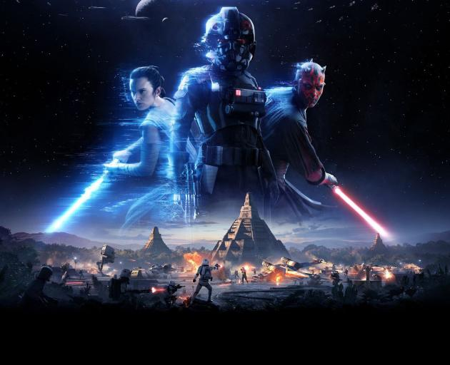 It seems as though EA has decided to try and make amends, crafting an original story for this sequel that neatly bridges the gap between 'Return Of The Jedi' and 'The Force Awakens'. Photo: Supplied